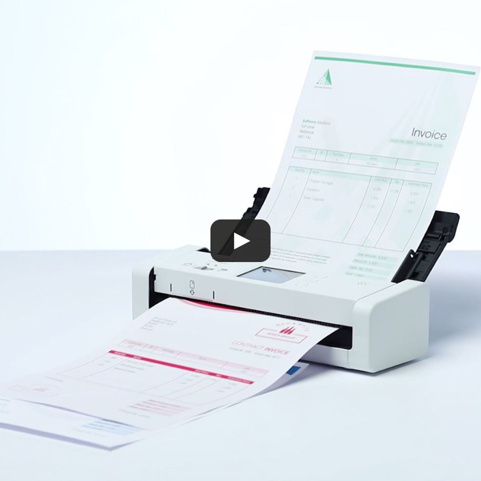 Smarter und kompakter ADS-1700W Dokumentenscanner 9